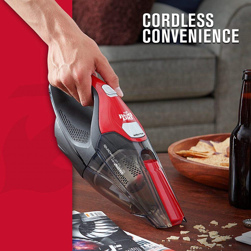 Quick Flip Pro Cordless Handheld Vacuum Cleaner