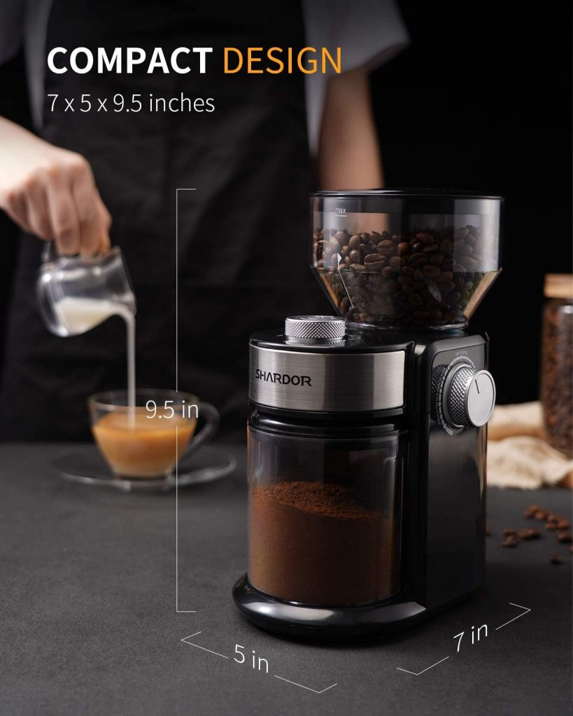 Burr Electric Coffee Grinder