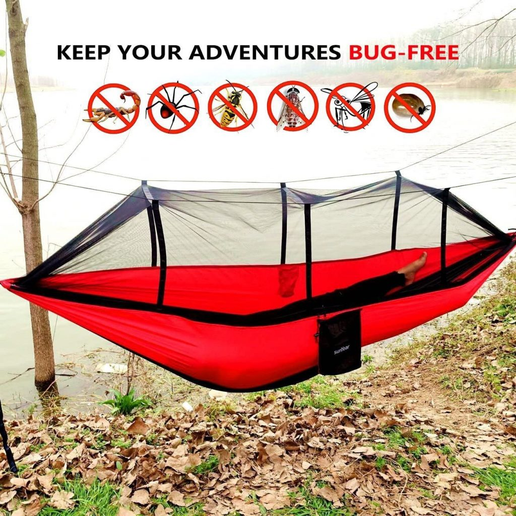 Camping Hammock with Mosquito