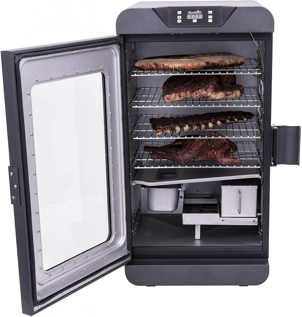 Char-Broil Deluxe Black Electric Smoker