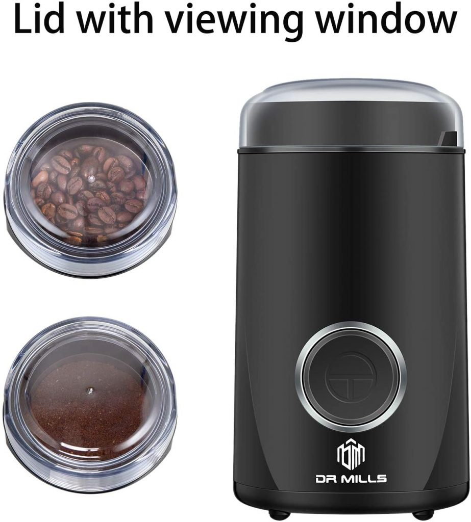 MILLS Electric Coffee Grinder
