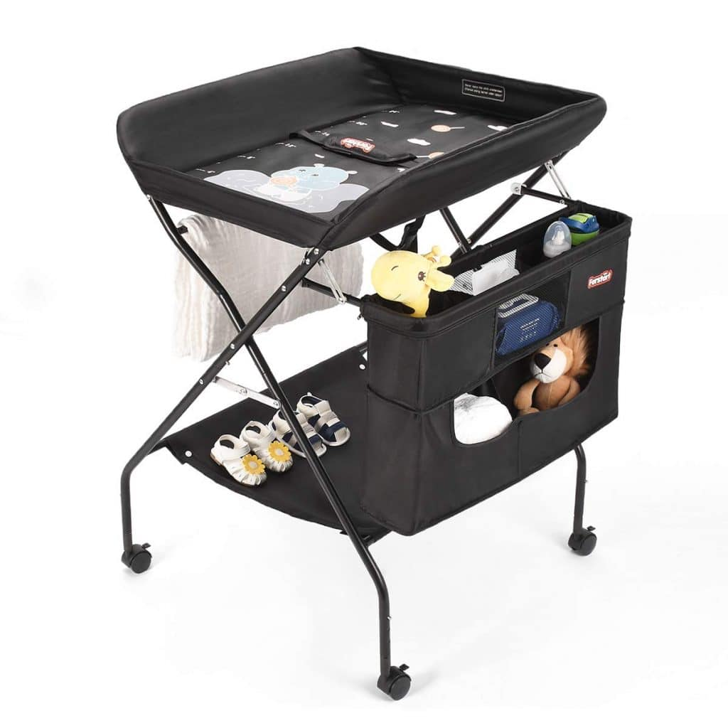 Mobile Baby Changing Table