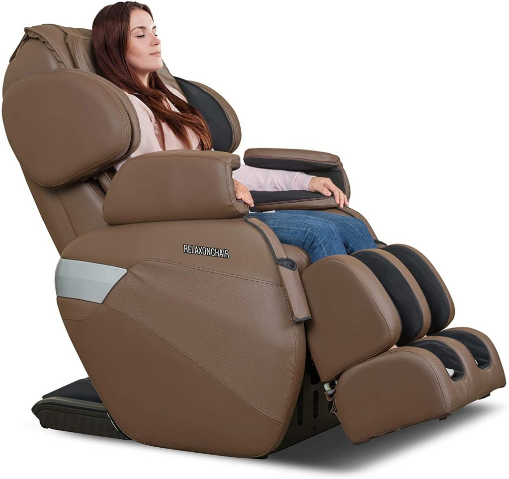 Massage Chair with Built-in Heat and Air Massage System