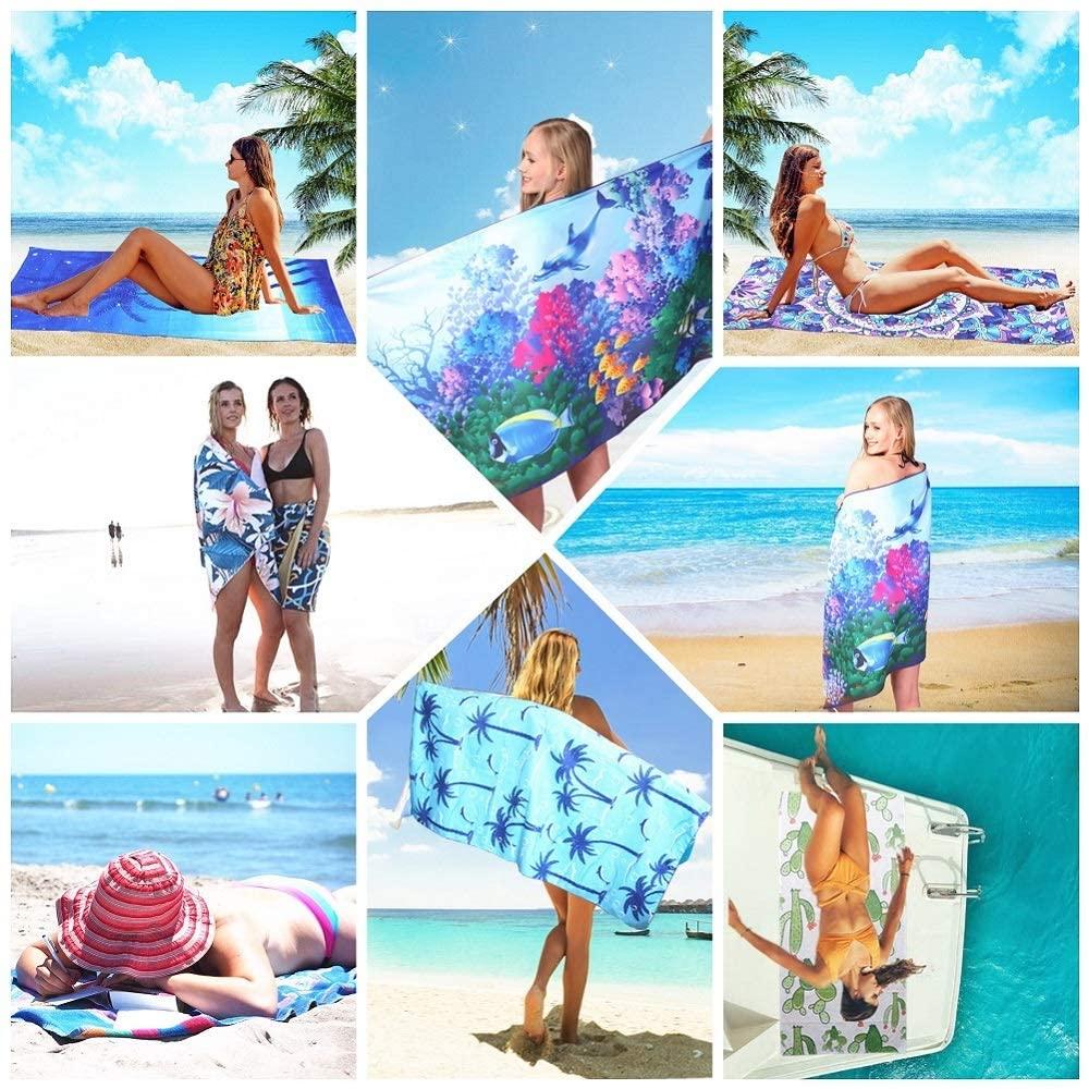 Microfiber Sand Free Beach Towel
