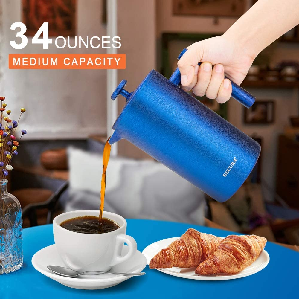 Secura Coffee French Press and Maker