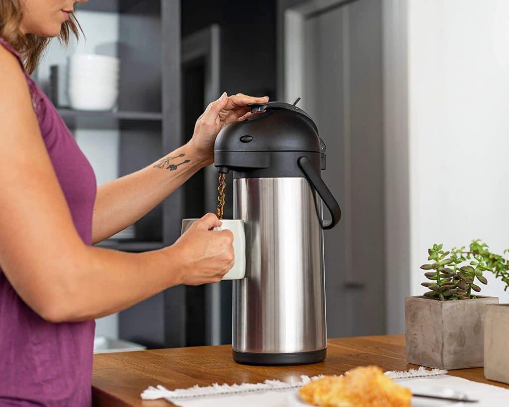 Cresimo Airpot Thermal Coffee Carafe
