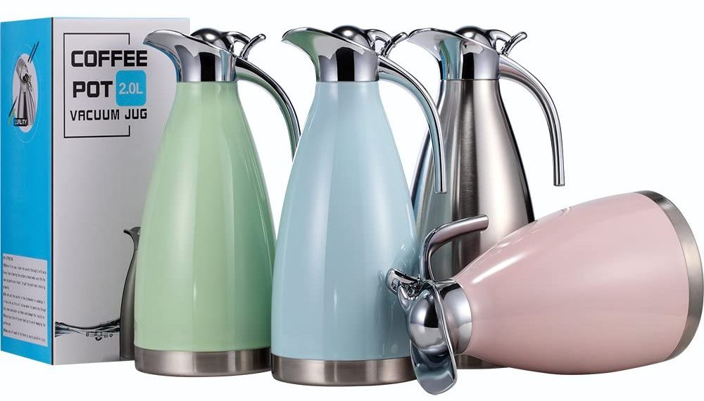 Stainless Steel Coffee Thermal Carafe