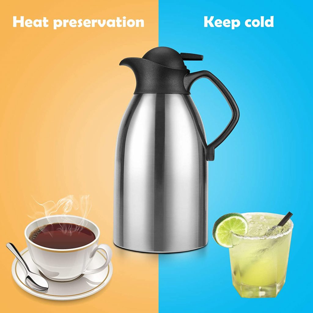 ENLOY Stainless Steel Coffee Carafe